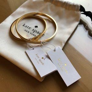 Kate Spade Spade + Heart of Gold Bracelets